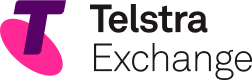 Telstra Exchange logo & home button