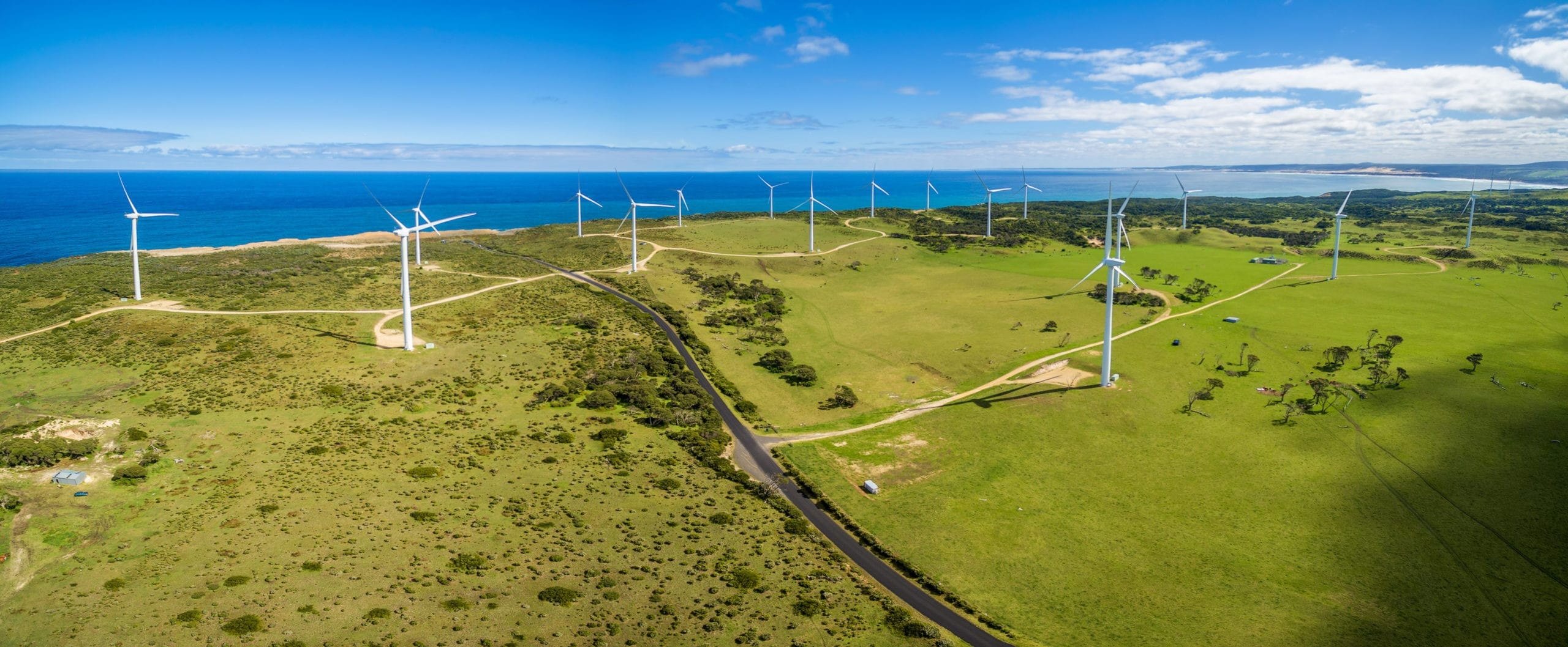 Wind and solar farm, Australia